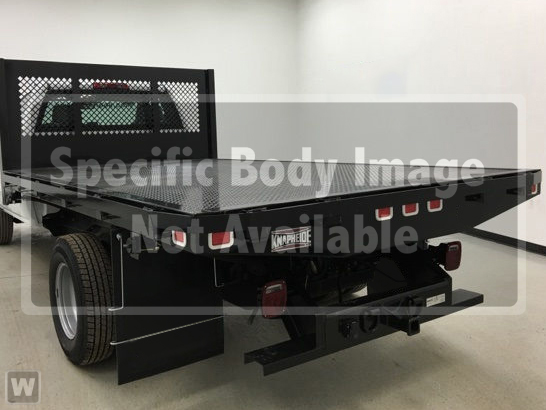 2019 Silverado Medium Duty Regular Cab DRW 4x2, Knapheide Platform Body #CF9T153051 - photo 1