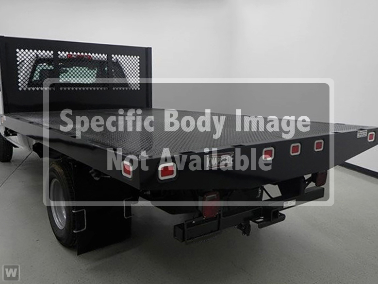 2019 Silverado Medium Duty Regular Cab DRW 4x2,  Knapheide Platform Body #C921267 - photo 1