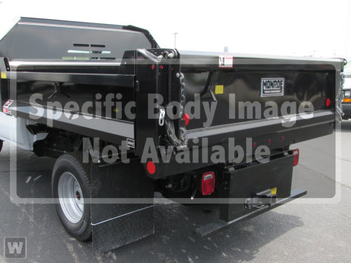 2019 Sierra 3500 Regular Cab DRW 4x2,  Monroe MTE-Zee Dump Body #KT9X135 - photo 1