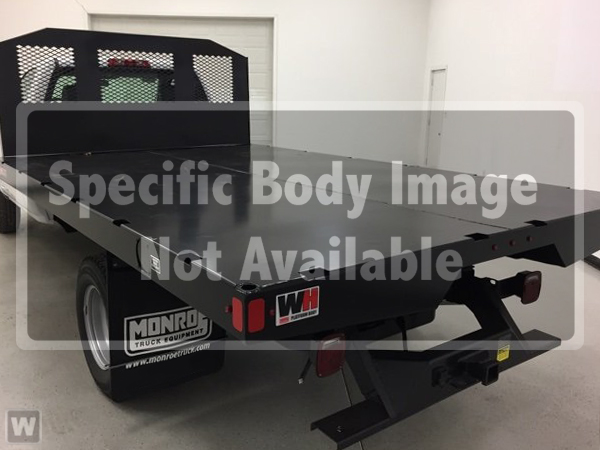 2019 Silverado Medium Duty Regular Cab DRW 4x2,  Monroe Stake Bed #3190668 - photo 1