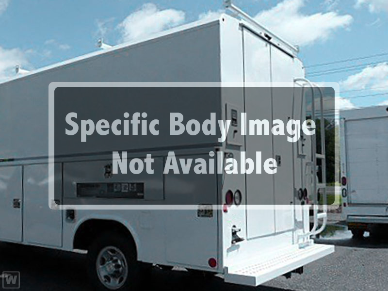 2018 LCF 4500 Crew Cab 4x2,  Reading Service Utility Van #98324 - photo 1