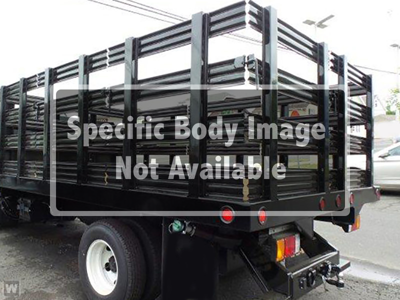 2019 Chevrolet Silverado 5500 Crew Cab DRW 4x4, Reading Steel Stake Bed #HL91152 - photo 1