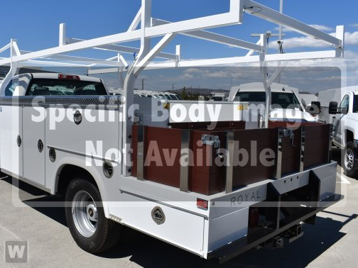 2019 Silverado Medium Duty Regular Cab DRW 4x2, Royal Service Combo Body #194044 - photo 1