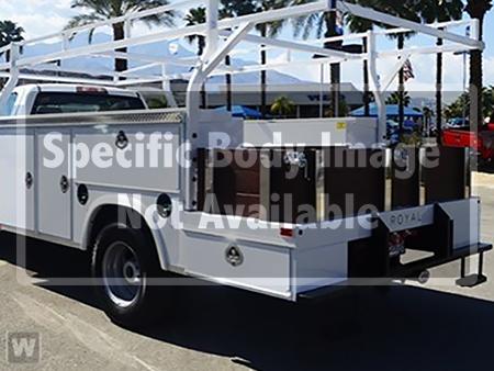 2019 Sierra 3500 Regular Cab DRW 4x2,  Royal Combo Body #23721 - photo 1