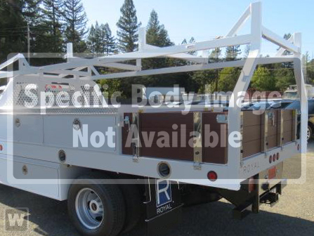 2018 Sierra 3500 Regular Cab DRW,  Royal Contractor Bodies Contractor Body #G180643 - photo 1