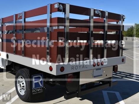 2019 Silverado 5500 Regular Cab DRW 4x2, Royal Stake Bed #C159969 - photo 1