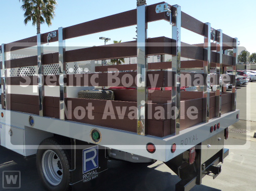 2019 F-550 Regular Cab DRW 4x2, Royal Stake Bed #9T1506 - photo 1