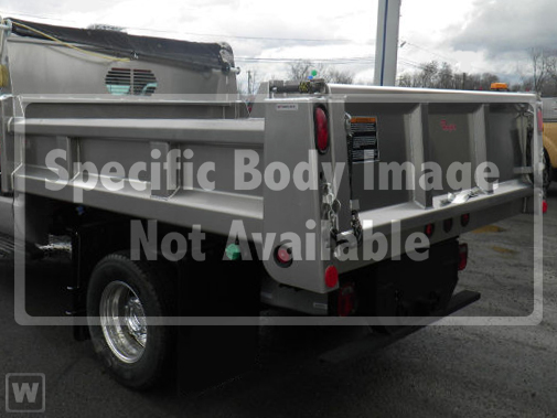 2019 Ford F-550 Super Cab DRW 4x4, Rugby Eliminator LP Stainless Steel Dump Body #191344 - photo 1