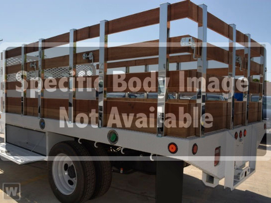 2019 F-650 Regular Cab DRW 4x2,  Scelzi Stake Bed #FK1816 - photo 1