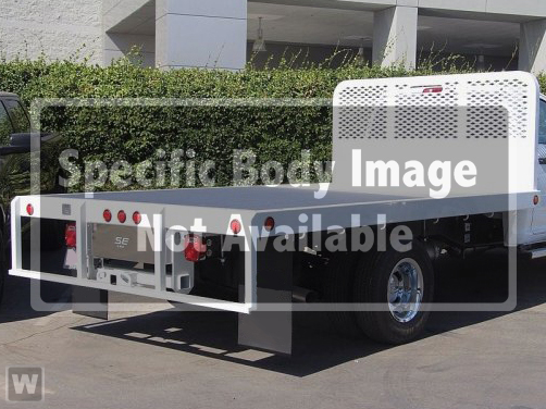 2018 Ram 5500 Regular Cab DRW 4x2,  Scelzi WFB Platform Body #18D1289 - photo 1