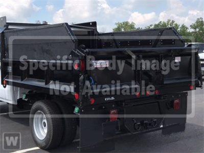 2019 Chevrolet Silverado Medium Duty Regular Cab DRW 4x4, Crysteel E-Tipper Dump Body #C1697K - photo 1