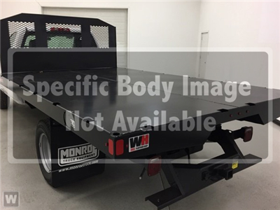 2018 Silverado 3500 Regular Cab DRW 4x2,  Monroe Work-A-Hauler II Platform Body #569089 - photo 1