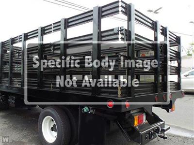 2021 Silverado 3500 Crew Cab 4x4,  Reading Steel Stake Bed #S1705M - photo 1