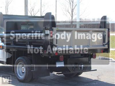 2021 Silverado 3500 Crew Cab AWD,  Rugby Contractor Dump Body #Y8423 - photo 1