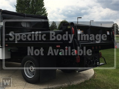 2018 Sierra 3500 Regular Cab DRW 4x4,  Rugby Eliminator LP Steel Dump Body #G180452 - photo 1
