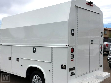 2019 Ford Closed Service Van Transit 10 FT High Roof Utility Body #191751 - photo 1