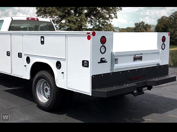2020 Chevrolet Silverado 3500 Regular Cab DRW 4x4, Knapheide Steel Service Body #LF260316 - photo 1