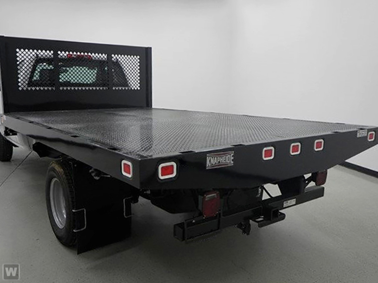 2018 Silverado 3500 Regular Cab DRW 4x2,  Knapheide Platform Body #918497K - photo 1