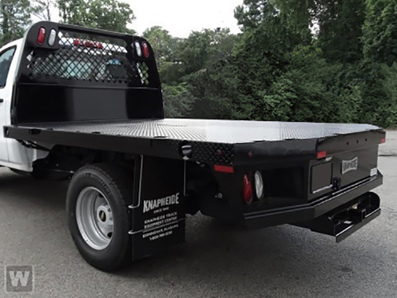 2018 Silverado 3500 Regular Cab DRW 4x2,  Knapheide PGNB Gooseneck Platform Body #18-0695 - photo 1