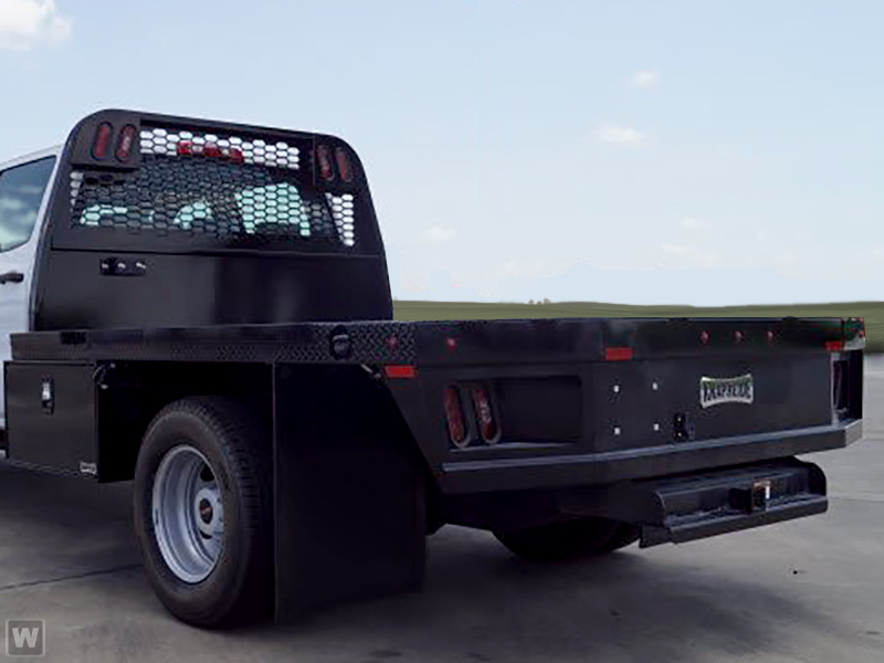 2018 Sierra 3500 Regular Cab DRW 4x2, Knapheide PGNB Gooseneck Platform Body #183343 - photo 1