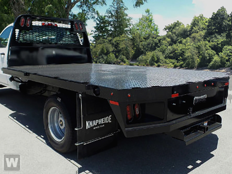 2019 Silverado Medium Duty Regular Cab DRW 4x2, Knapheide Platform Body #M1990058 - photo 1