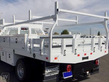2020 Silverado 5500 Regular Cab DRW 4x4,  Knapheide Contractor Body #M692723 - photo 1