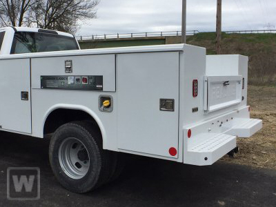 2021 Ford F-450 Super Cab DRW 4x4, Reading Classic II Aluminum  Service Body #MFU1078 - photo 1