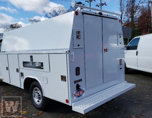 2020 Chevrolet Express 3500 4x2, Reading Service Utility Van #89435 - photo 1