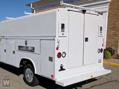 2018 Transit 350 4x2,  Reading Service Utility Van #GB23258 - photo 1