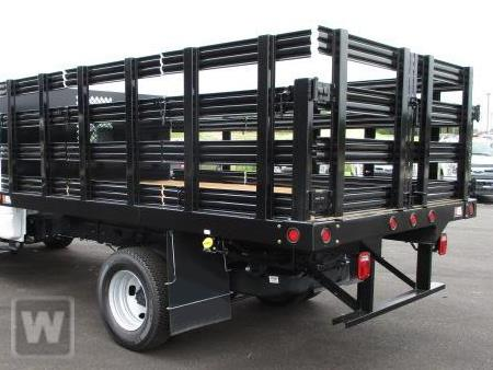 2019 Ford F-550 Crew Cab DRW 4x2, Reading Steel Stake Bed #T94067 - photo 1