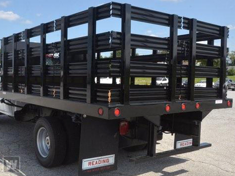 2019 Silverado 5500 Regular Cab DRW 4x2, Reading Steel Stake Bed #C67527 - photo 1