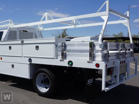 2020 Ford F-550 Regular Cab DRW RWD, Scelzi Contractor Body #FL0049 - photo 1