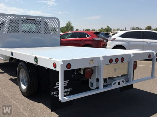 2019 F-450 Super Cab DRW 4x2,  Scelzi Flatbed #FK2179 - photo 1