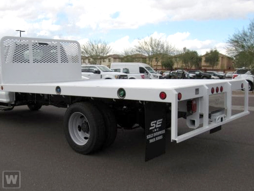 2019 F-550 Regular Cab DRW 4x2, Scelzi Flatbed #FK5388DT - photo 1