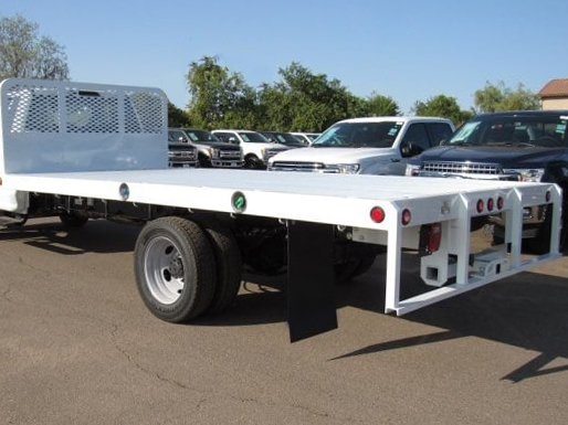 2020 Ford F-550 Regular Cab DRW 4x2, Scelzi Flatbed #FL2622 - photo 1