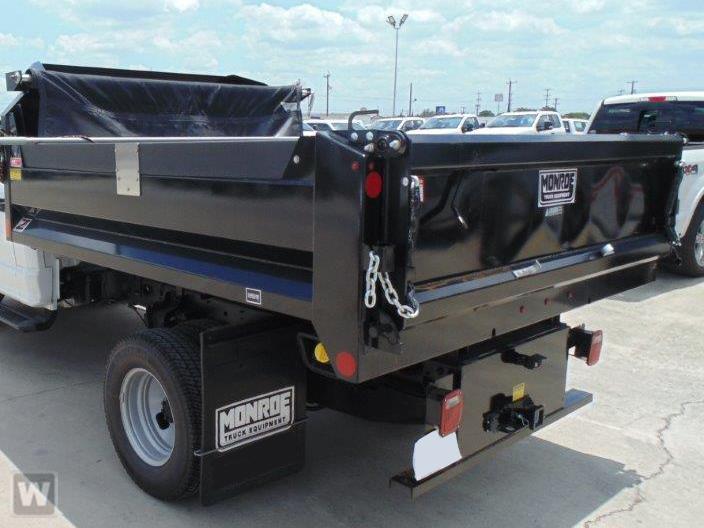 2021 Silverado 3500 Crew Cab 4x4,  Monroe Truck Equipment MTE-Zee Dump Body #CX1T203848 - photo 1