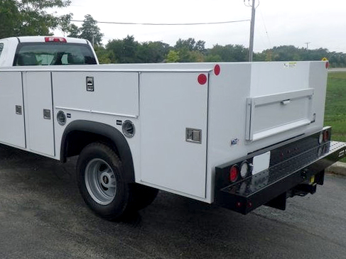 2019 Chevrolet Silverado 4500 Regular Cab DRW 4x2, Monroe Service Body #19692 - photo 1