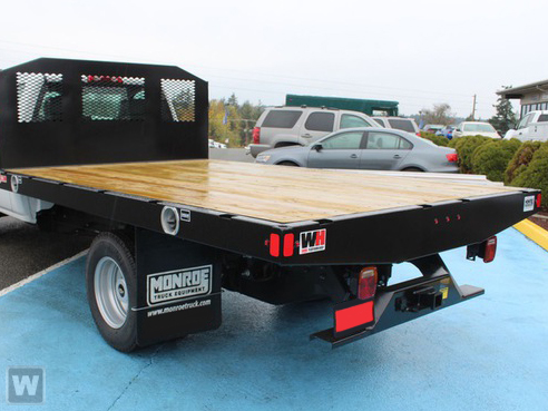 2020 Chevrolet Silverado 4500 Regular Cab DRW 4x2, Monroe Work-A-Hauler II Stake Bed #48667 - photo 1