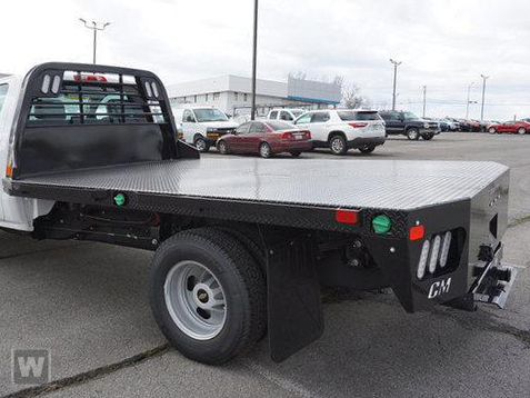 2019 Silverado Medium Duty Regular Cab DRW 4x2,  CM Truck Beds Platform Body #S9193 - photo 1