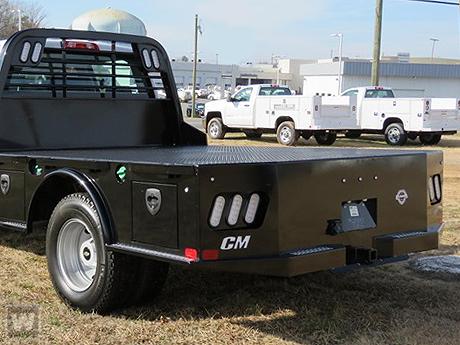 2019 Silverado 3500 Crew Cab DRW 4x2, CM Truck Beds Platform Body #S9266 - photo 1