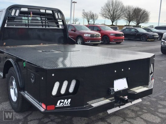 2020 F-550 Super Cab DRW 4x4,  CM Truck Beds SK Model Platform Body #GE10463 - photo 1