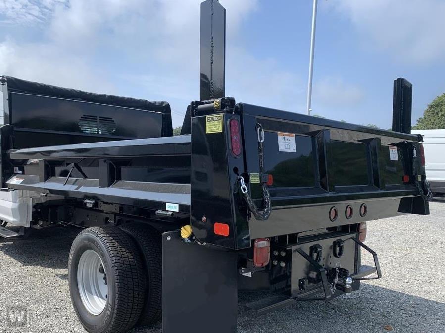 2021 F-350 Regular Cab DRW 4x4,  Rugby Eliminator LP Steel Dump Body #11093T - photo 1