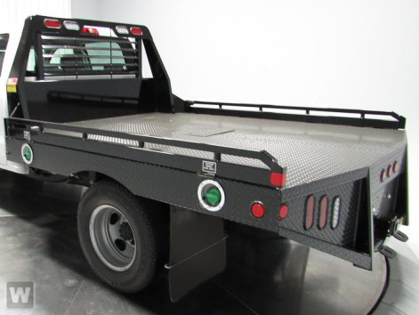 2021 Sierra 3500 Crew Cab 4x4,  Hillsboro GII Steel Platform Body #GM283644 - photo 1