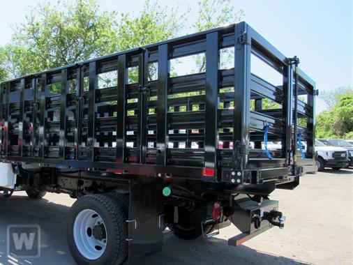 2021 F-350 Regular Cab DRW 4x4,  PJ's Truck Bodies Stake Bed #1R6531 - photo 1