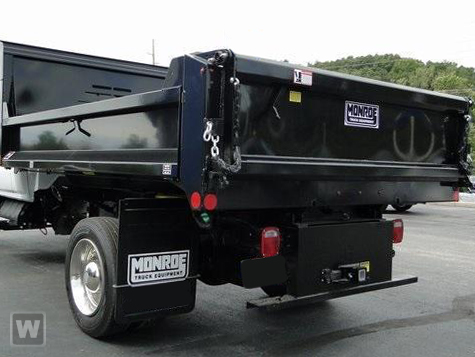 2020 Silverado 5500 Regular Cab DRW 4x4,  Monroe Truck Equipment MTE-Zee Dump Body #49765 - photo 1