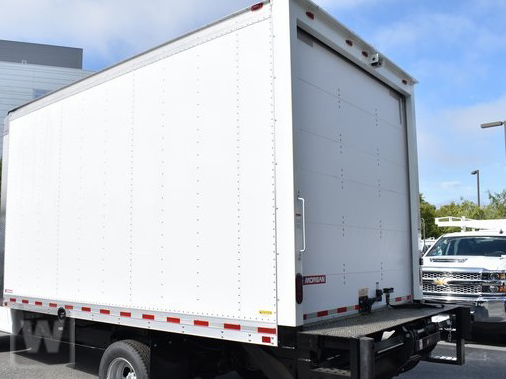 2019 Chevrolet Express 4500 4x2, Morgan Parcel Aluminum Straight Box #M191126 - photo 1