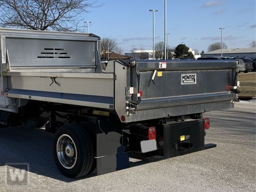2021 Silverado 5500 Regular Cab DRW 4x2,  Monroe Truck Equipment MTE-Zee SST Series Dump Body #51215 - photo 1
