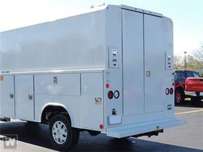 2019 Transit 350 HD DRW 4x2,  Reading Aluminum CSV Service Utility Van #AT10990 - photo 1