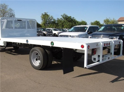 2020 Ford F-550 Regular Cab DRW 4x2, Scelzi WFB Flatbed #FL3898 - photo 1