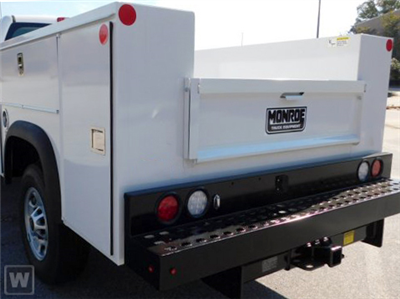 2020 Silverado 2500 Double Cab 4x4,  Monroe Truck Equipment MSS II Service Body #22964TD - photo 1